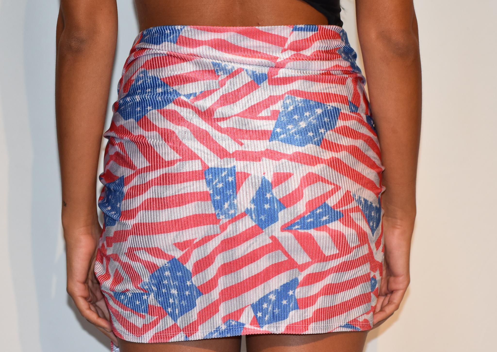 sarong american flag
