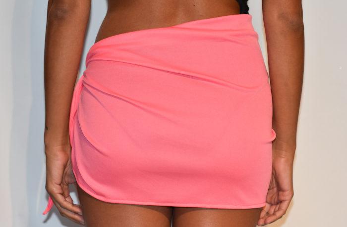short sarong coral