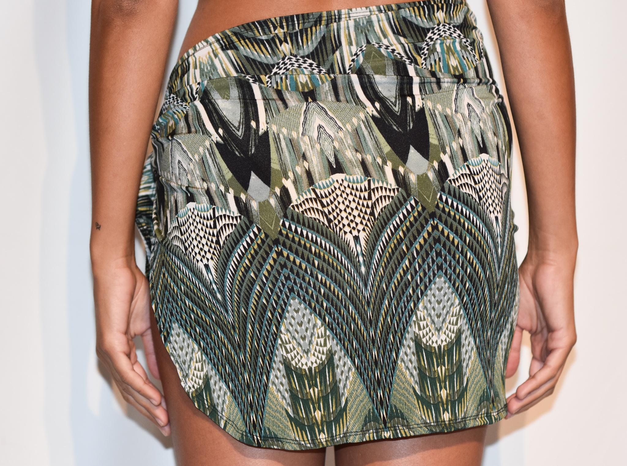 sarong turquoise paisley burst