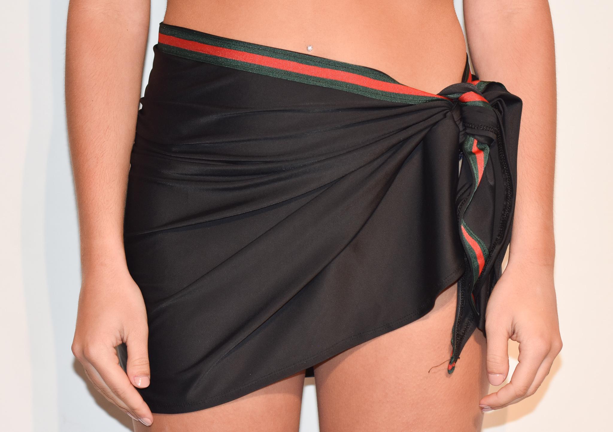 short g band beach skirt