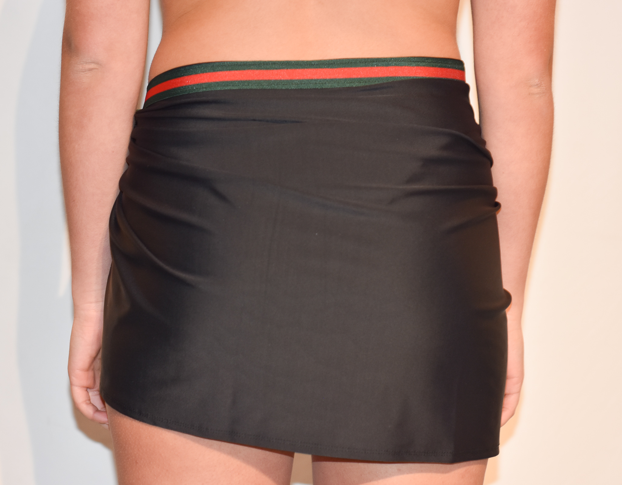 short g band beach skirt