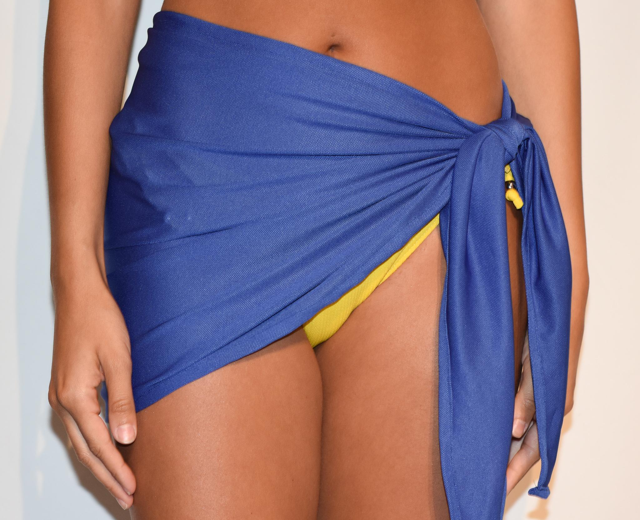 sarong royal blue