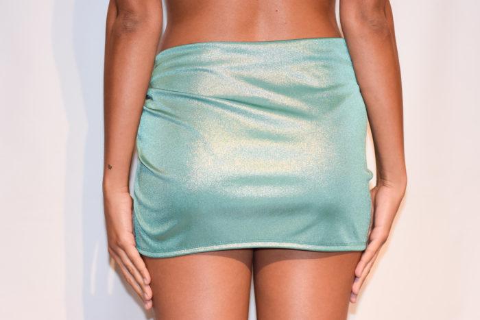 sarong bikini cover light blue