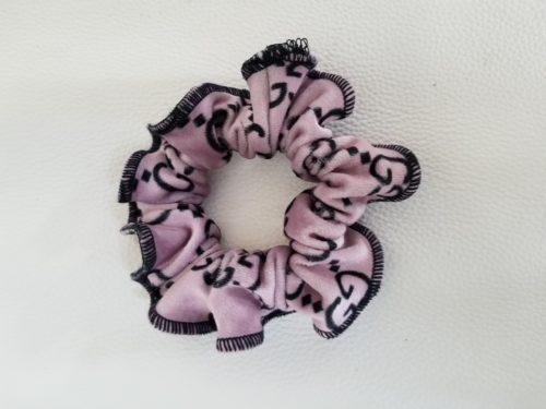 scrunchie pink gg