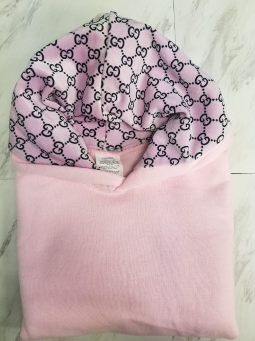 Hoodie Pink G Front 1