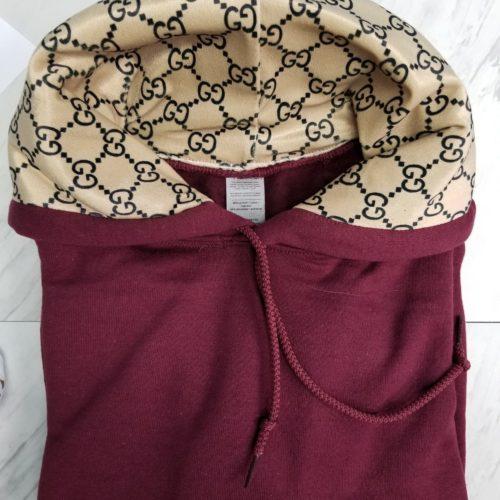hoodie burgundy pullover sweatshirt